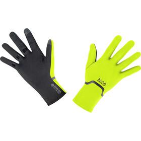GORE WEAR M Gore-Tex Infinium Stretch Handschoenen, geel/zwart